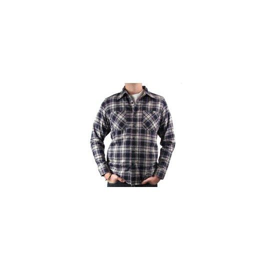 Mini Herringbone Medium Weight Flannel Work Shirt