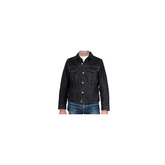 18oz Raw Indigo Selvage Denim Type III jacket