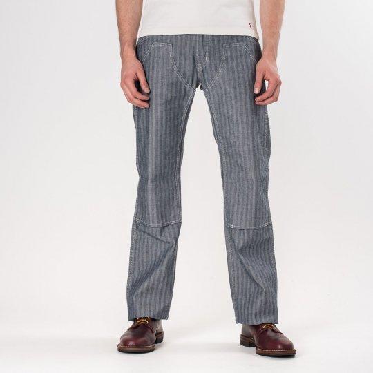 Indigo 12oz Herringbone Logger Pants