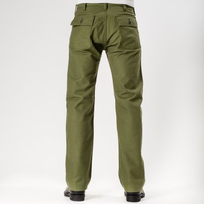 Cotton Serge Baker Pants