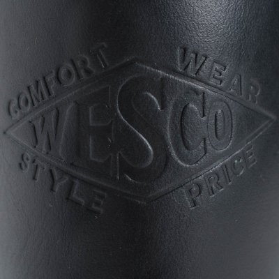 """The Bootery/Wesco® - 10"""" Boss Engineer - Black Domain"""