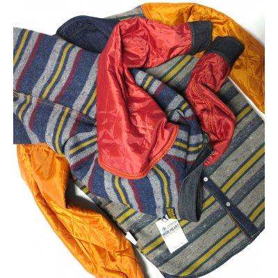 Blanket Lined 8oz Indigo or Black Denim Shirt