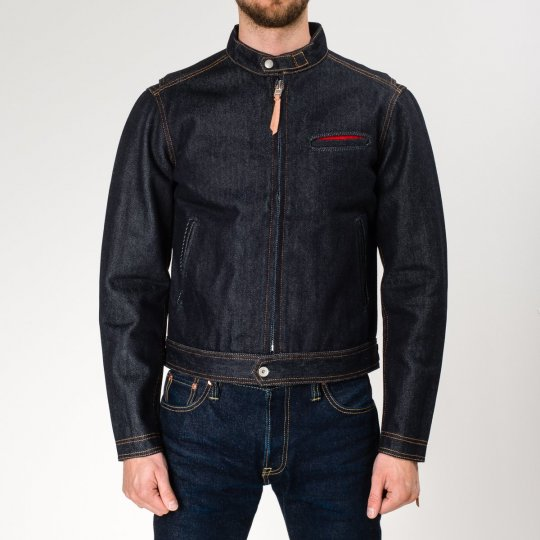 Indigo 21oz Denim Rider's Jacket