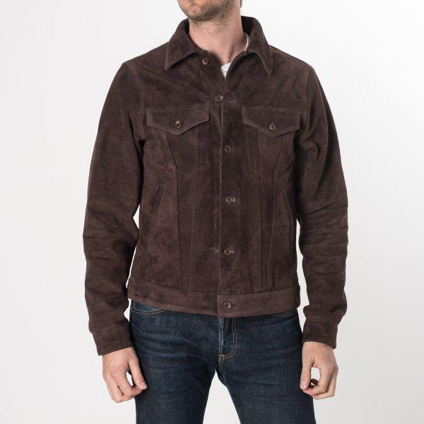 Brown Split Cowhide Leather Type III