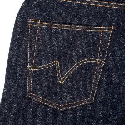 Indigo 18oz Vintage Denim Straight Cut
