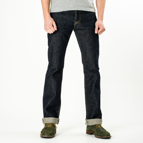 Indigo 21oz Selvedge Denim Boot Cut