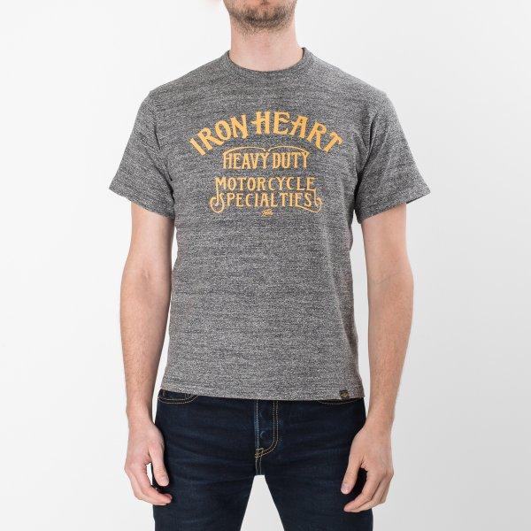 4ba4957b2c Printed 6.5oz Heather Grey Loopwheel T-Shirts