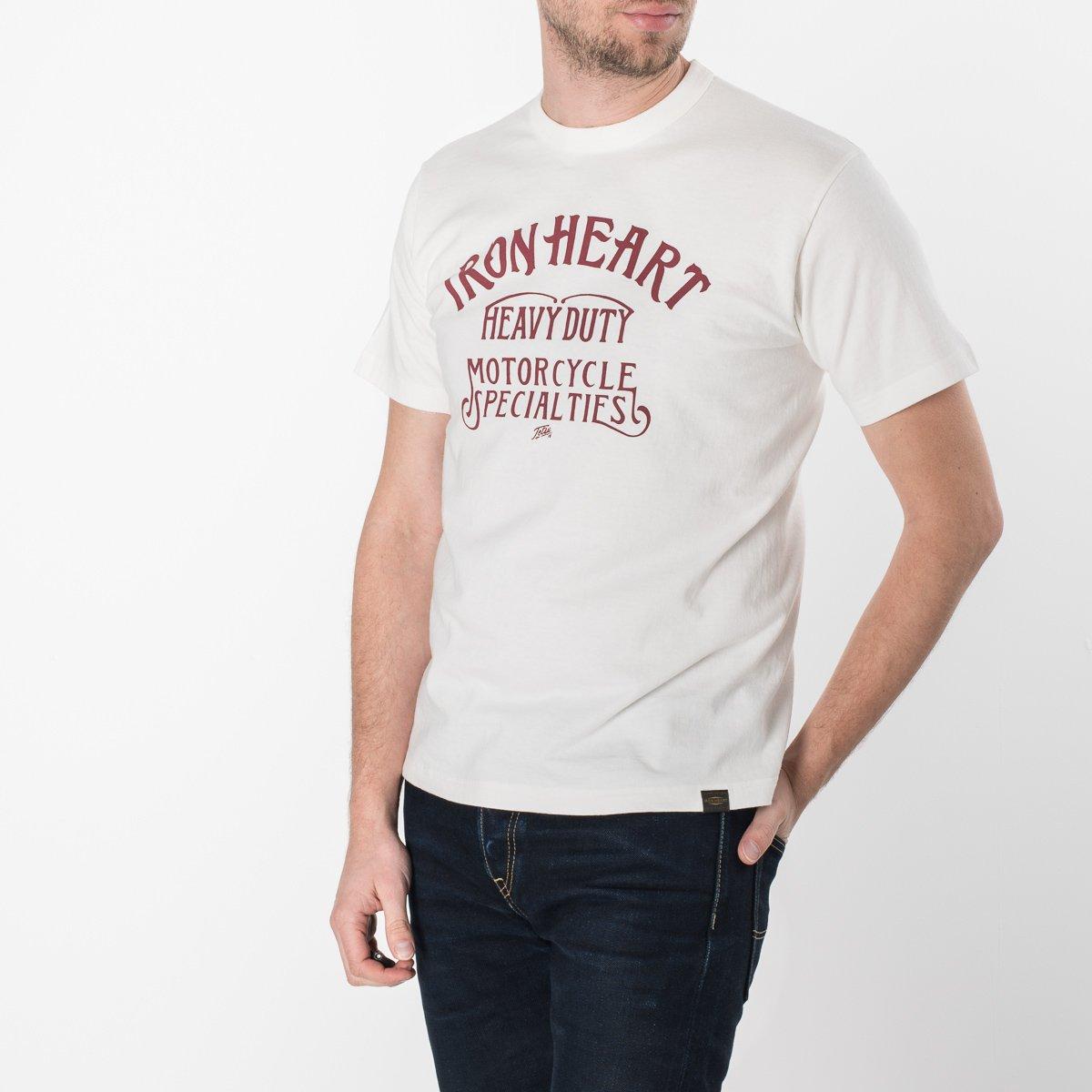 b3cc142244 ... Printed 6.5oz White Loopwheel T-Shirts ...