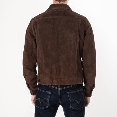 Mocha Split Cowhide Leather Type III