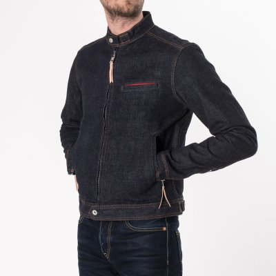 Indigo 13oz Selvedge Denim Rider's Jacket