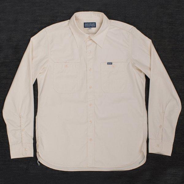 "Off-White 6.5oz Selvedge ""Sailor Cloth"" Work Shirt"