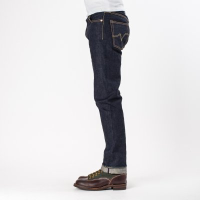 Indigo 18oz Vintage Selvedge Denim Slim Straight Cut