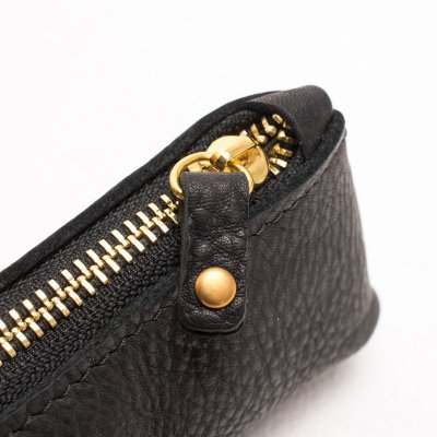 OGL Leather Zipper Pencil Case