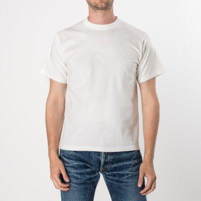 Plain White Iron Heart 7.5oz Loopwheel T-Shirts