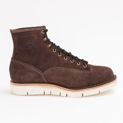 """The Bootery/Wesco® - 7"""" Brown Roughout Jobmaster"""