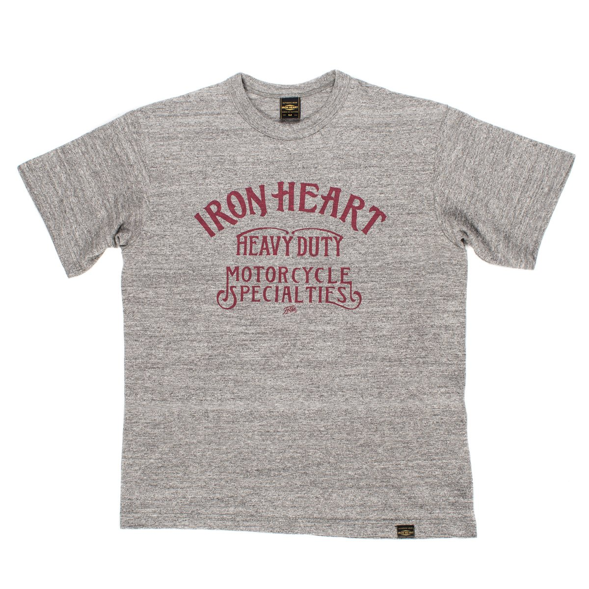 e22957af19 ... Printed 6.5oz Heather Grey Loopwheel T-Shirts ...