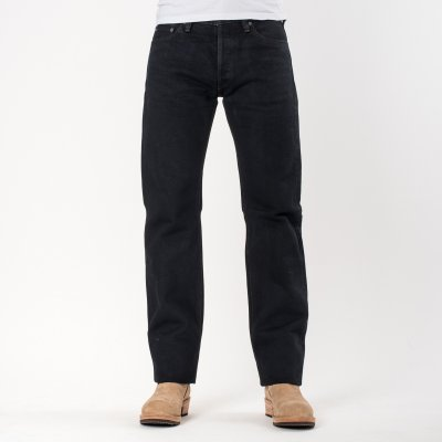 Overdyed Indigo 21oz Selvedge Denim Straight Cut