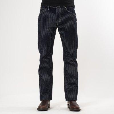 Indigo 21oz Wabash Single Knee Logger Jeans