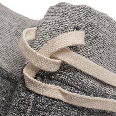 Heavy Loopwheel Fleece Lined Sweat Pants - Grey