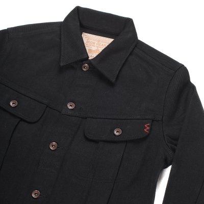 "Superblack 21oz Selvedge Denim 1946 Type Rider's Jacket - ""The Riffblaster General"""