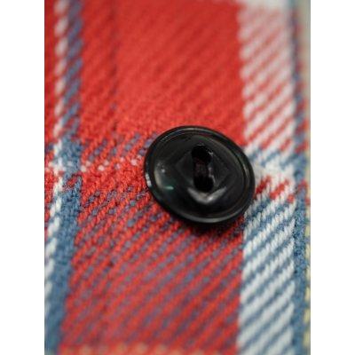 Medium Weight Madras Flannel Work Shirt - Brushed Reverse