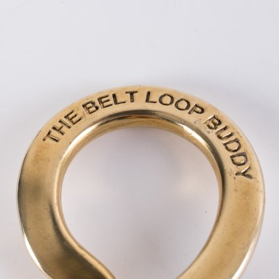 GOOD ART HLYWD Belt Loop Buddy in Brass