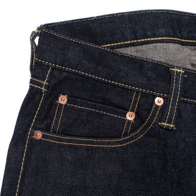 Indigo 16oz Vintage Selvedge Denim Super Slim Cut