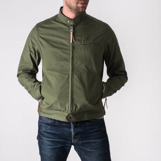 Ventile Riders Jacket in Green