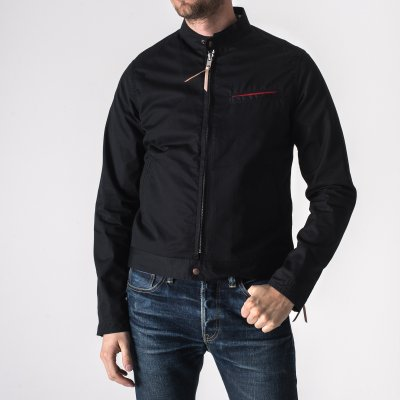 Ventile Riders Jacket in Black