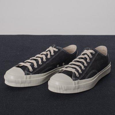 21oz Indigo Denim Low-Top Sneakers
