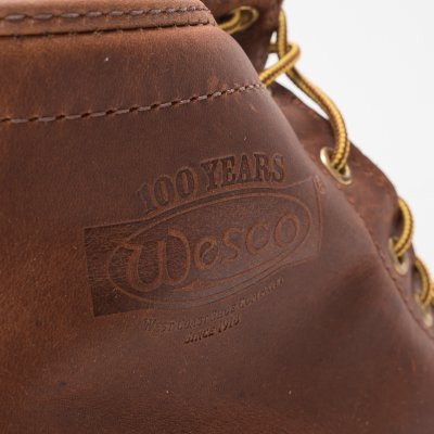 "The Bootery/Wesco® - 7"" British Tan Domain 'Hendrik' Last"