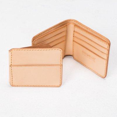 Calf Folding Wallet - Black or Tan