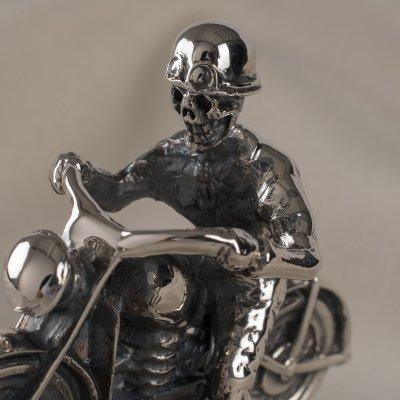 GOOD ART HLYWD Skull Head Moto Man