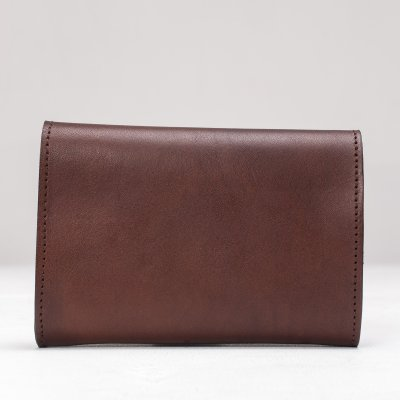 OGL WX2 Tri Fold Short Wallet Dark Brown