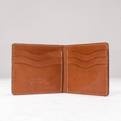 OGL Kingsman Classic Bi Fold Wallet Brown
