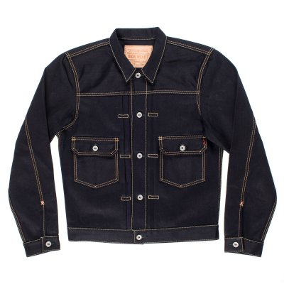 Indigo/Indigo 18oz Selvedge Denim Type ll Jacket