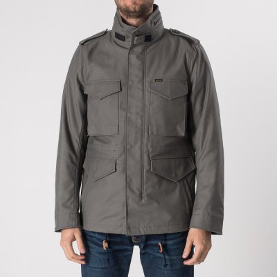 Sateen M65 Field Jacket - Grey