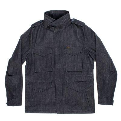 14oz Indigo Selvedge M65 Field Jacket
