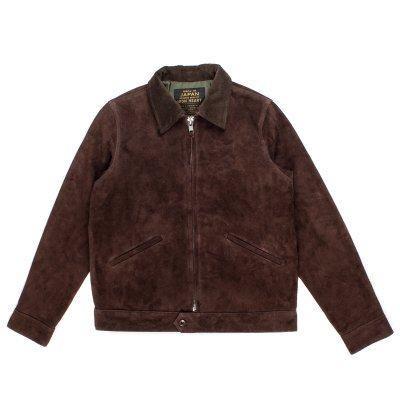 Split Steer Work Jacket in Brown