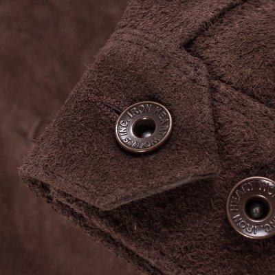 Split Steer Work Jacket in Brown
