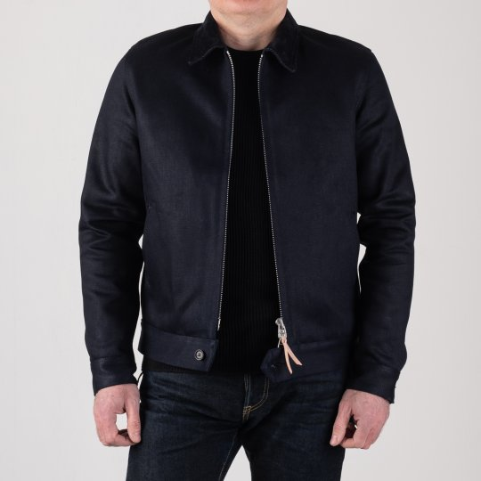 21oz Indigo Serge Work Jacket