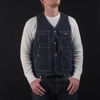 12oz Indigo Wabash Hunting Vest