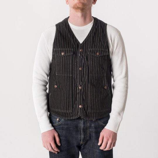 12oz Black Wabash Hunting Vest