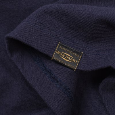 Printed 6.5oz Loopwheel T-Shirts - Navy