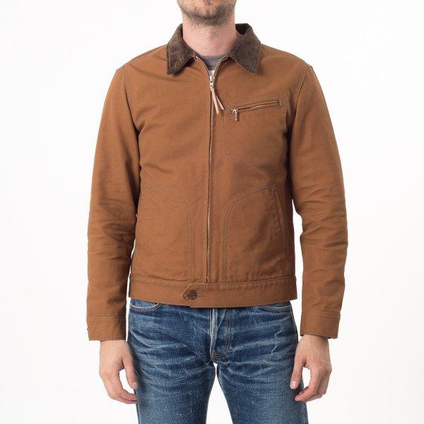 17oz Brown Cotton Duck Work Jacket