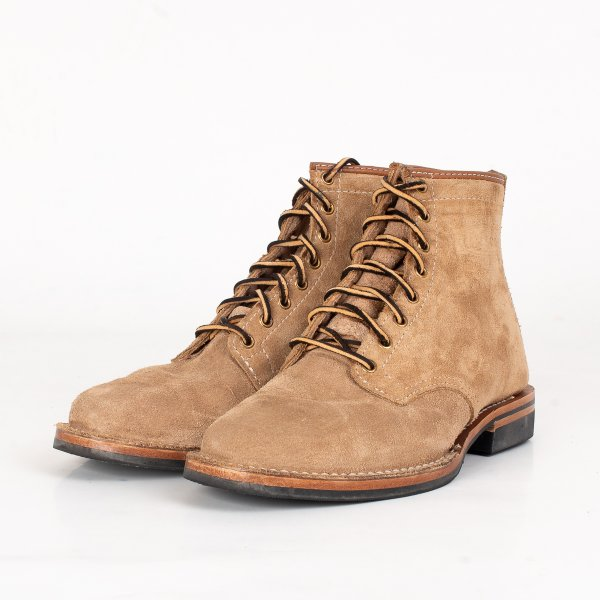 "Iron Heart Int'l x Wesco® - Burlap Rough-Out ""Foot Patrol"""
