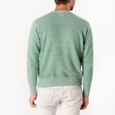 Heavy Loopwheel Fleece Lined Sweater - Mint