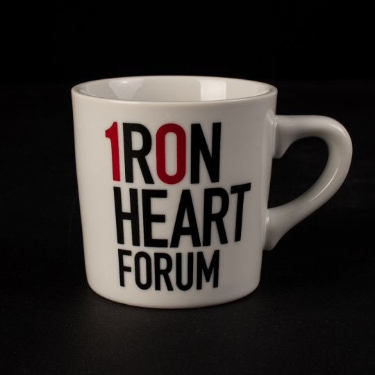 Iron Heart 10 Year Forum Anniversary Mug