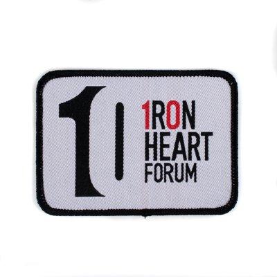 Iron Heart 10 Year Forum Anniversary Patch