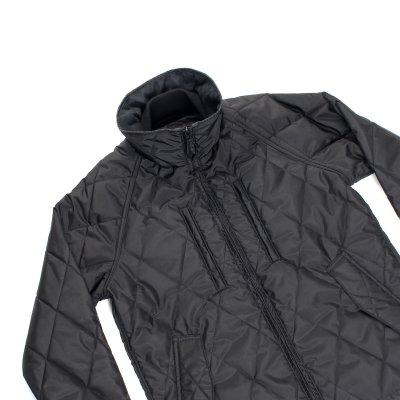 Primaloft® Gold Quilted Riders Jacket - Black